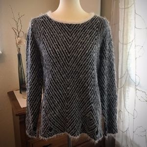 Super Fun Fuzzy Sweater by Cyrus ~ Size L